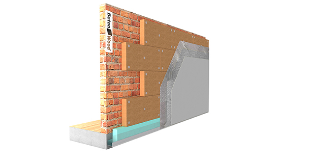 Pareti Esterne Casa : Casa bio ecologica isolamento parete esterna